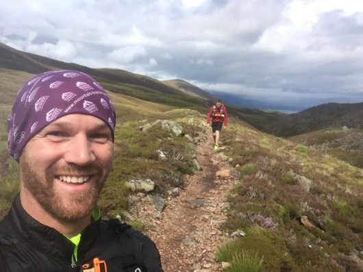 Descending the Lairig Ghru