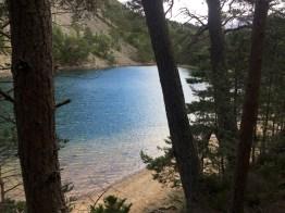 The blue waters of An Lochan Uaine