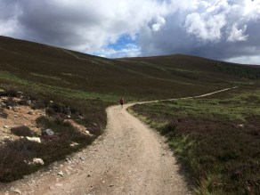 The track to Derry Lodge