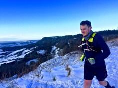 Stones ultramarathon training in the North York Moors
