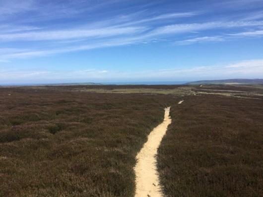 The Lyke Wake Challenge Route