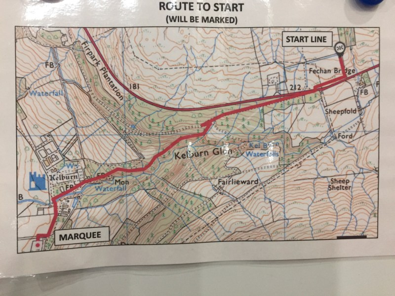 OMM - Route to the start