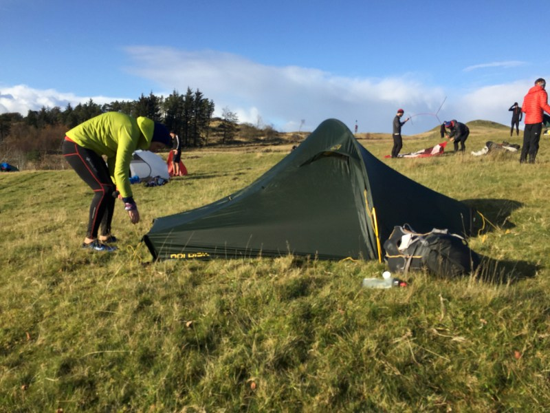 OMM - Pitching the tent