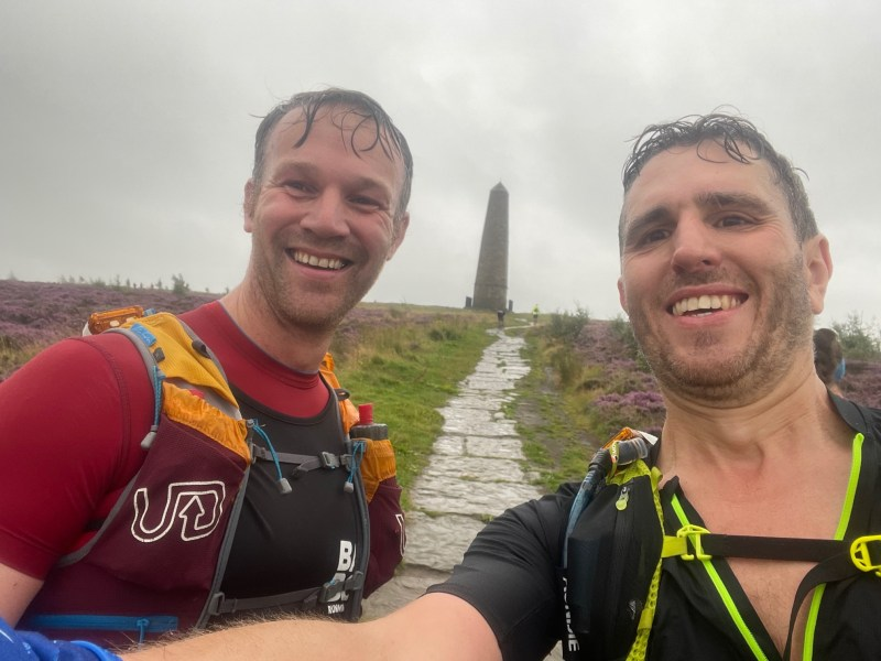 Hardmoors 55 Captain Cooks Monument with Phil Hughes