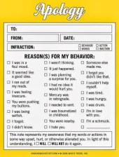 The Next Time You need to Apologize - Try This!