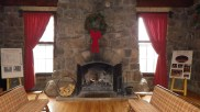 Original CCC Lodge Fireplace