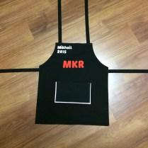 Finished apron!