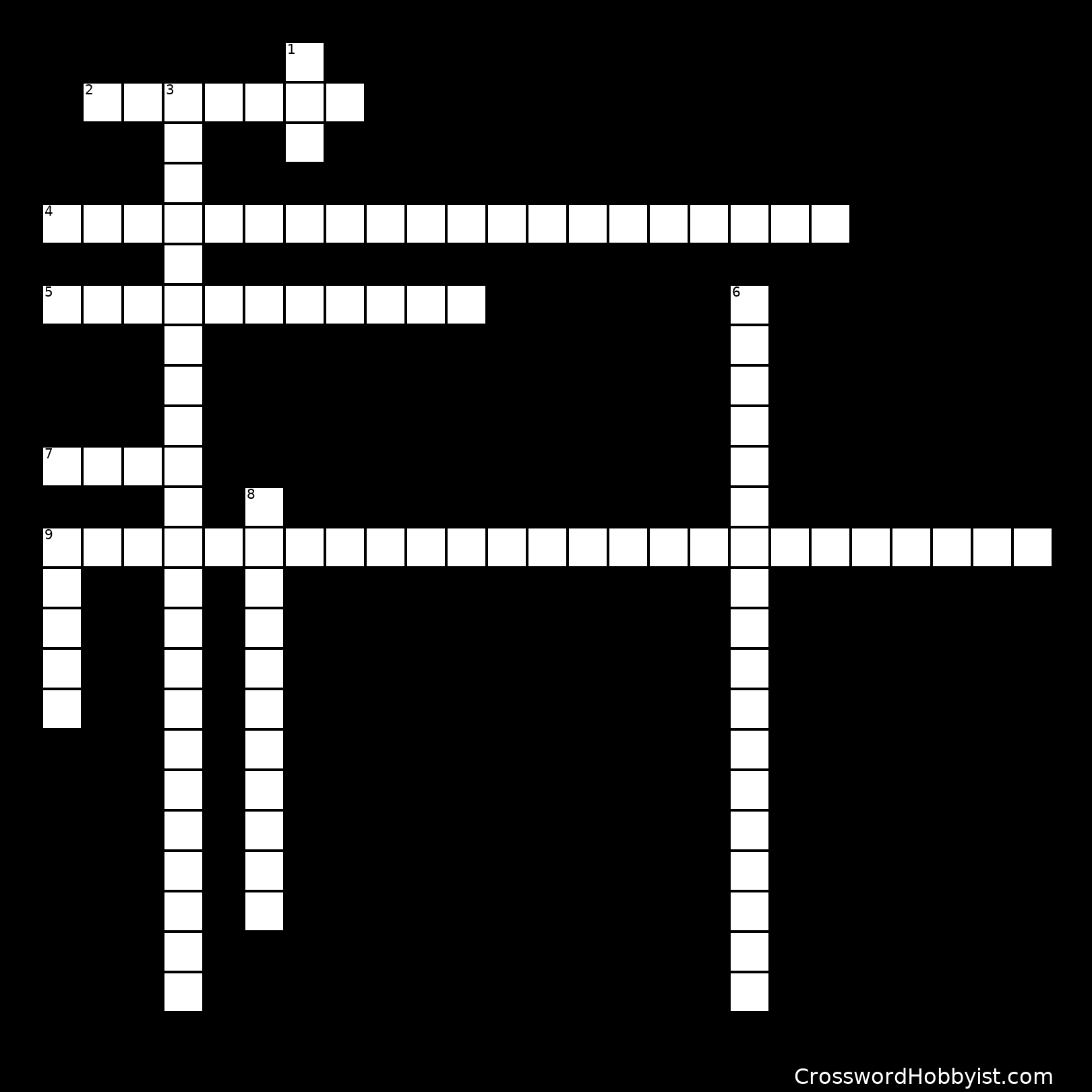 A Christmas Carol Crossword
