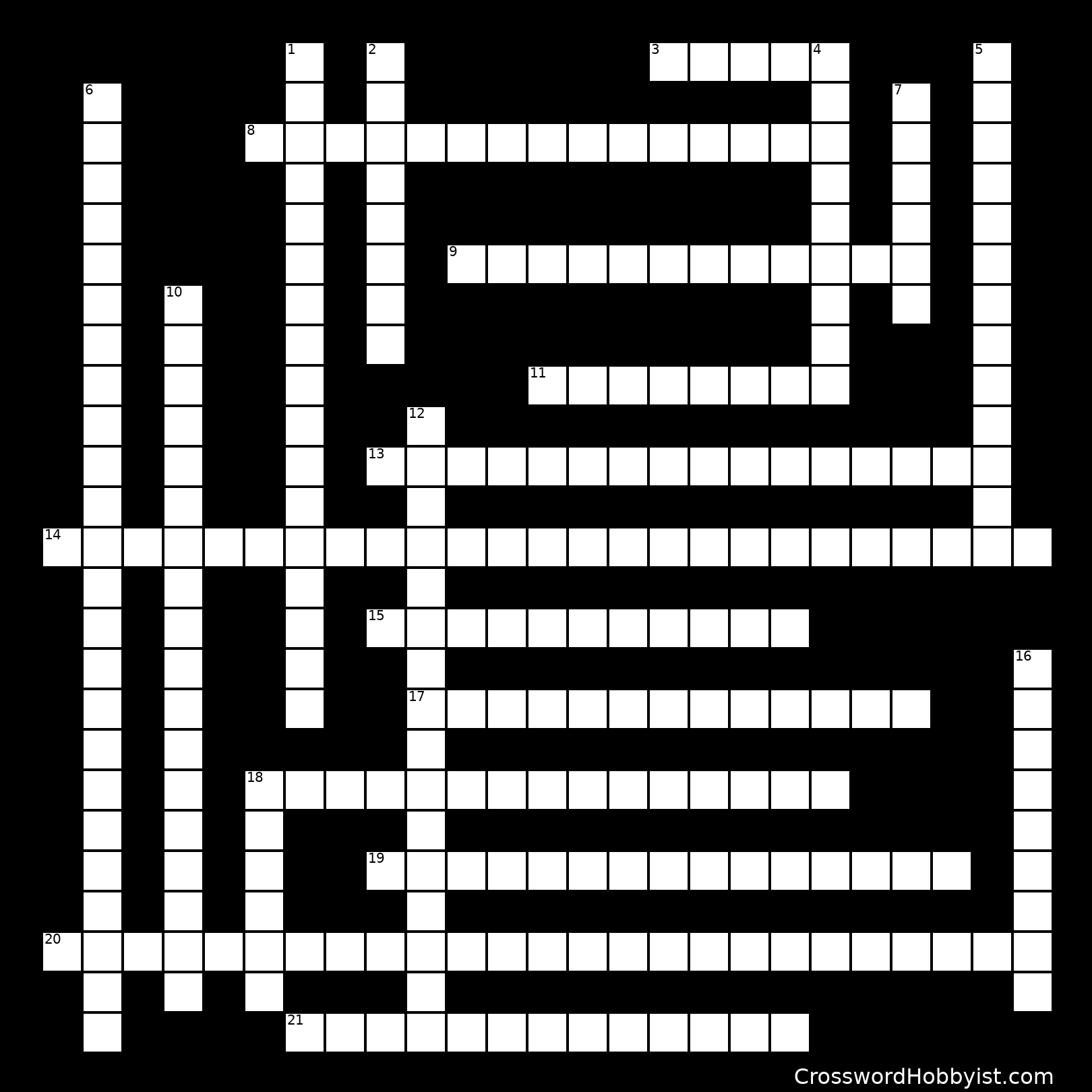 Chapter 4 Crossword