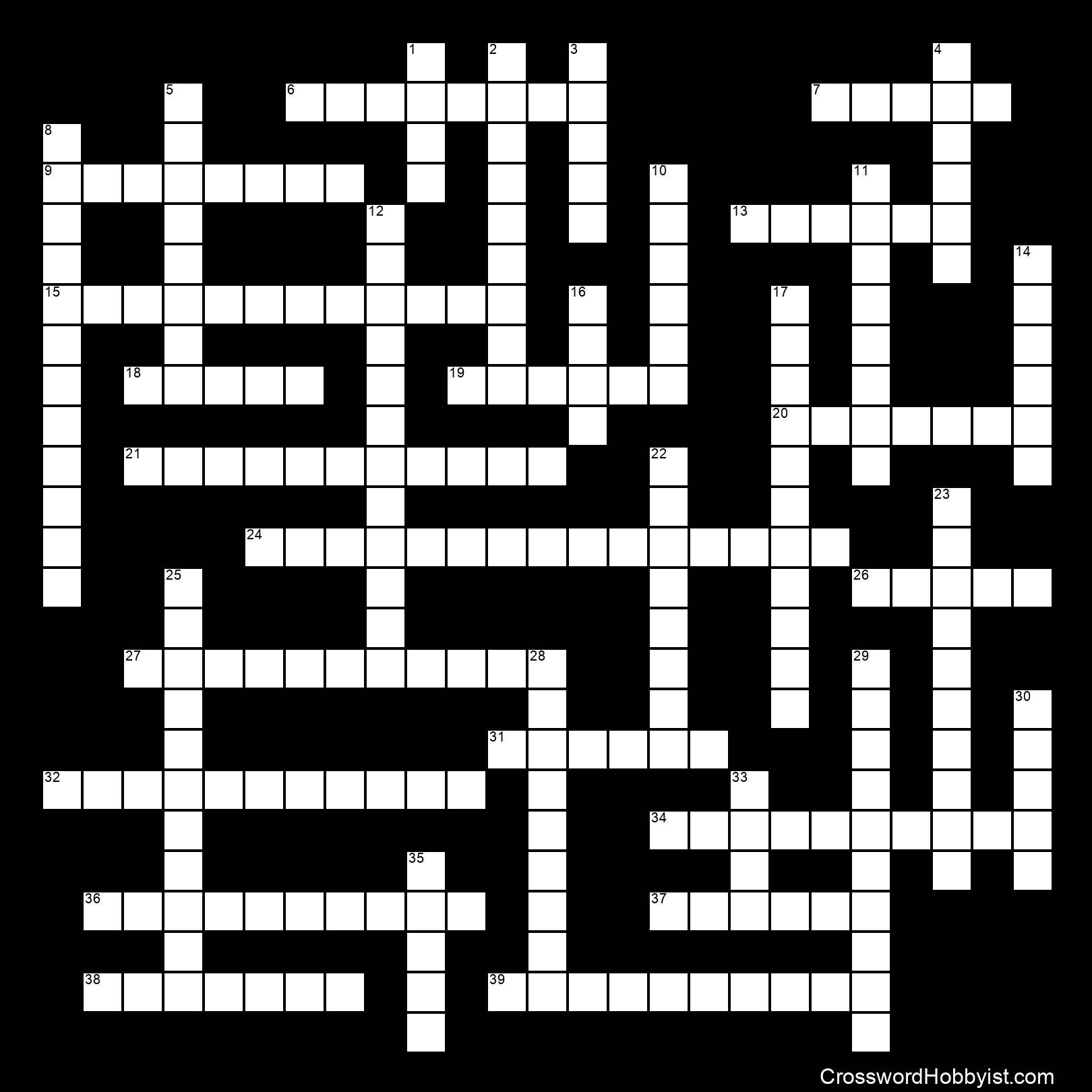 Comics Crossword