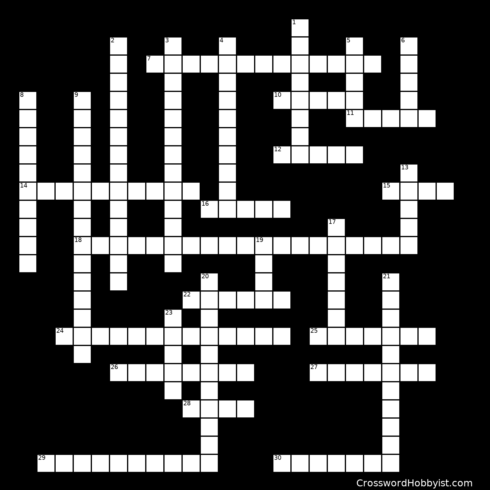 Simple Machines Crossword Puzzle