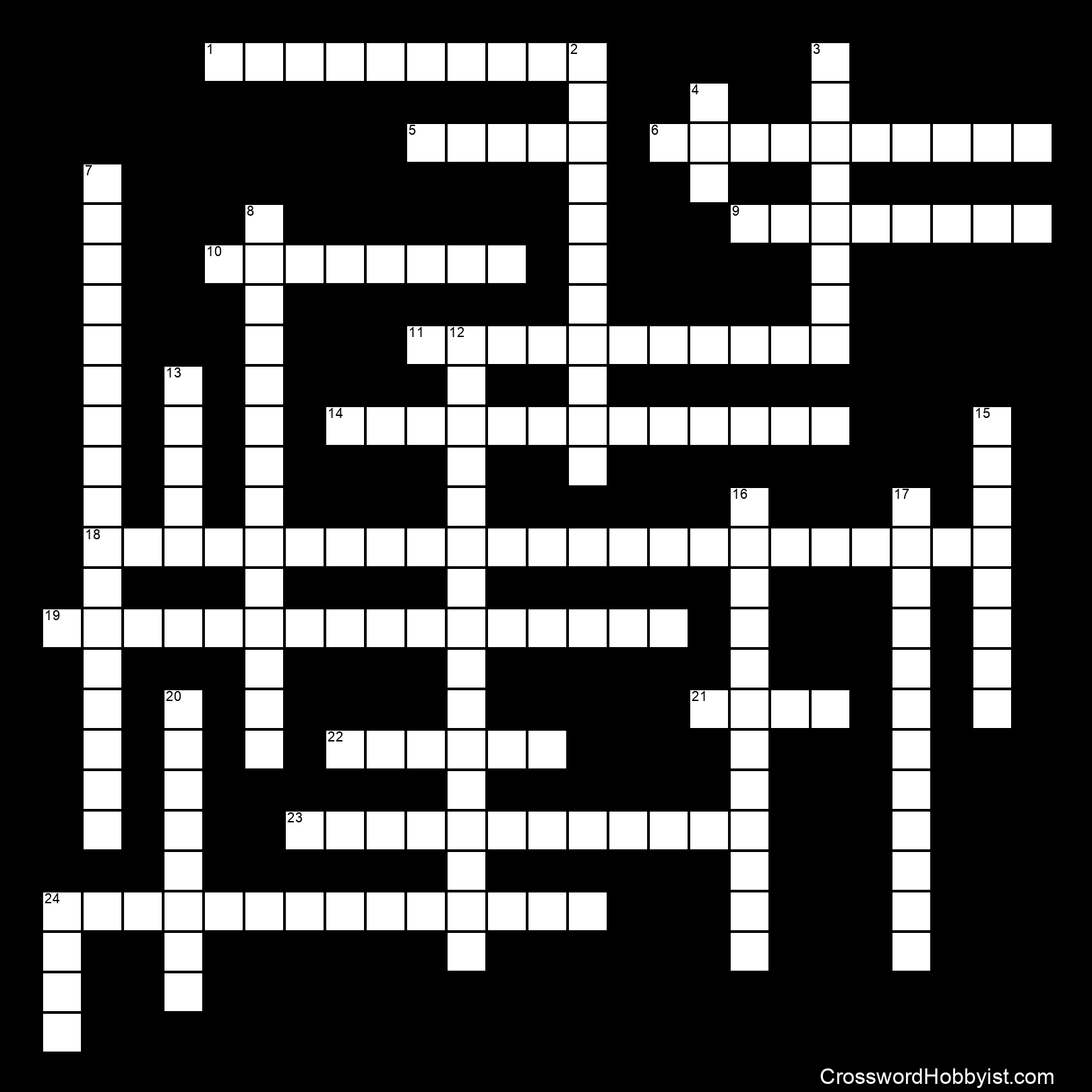Vietnam Crossword