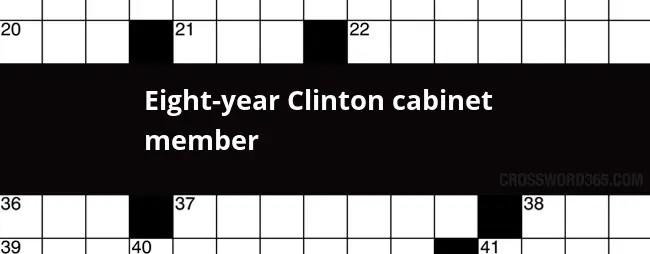 clinton cabinet member crossword | Centerfordemocracy.org