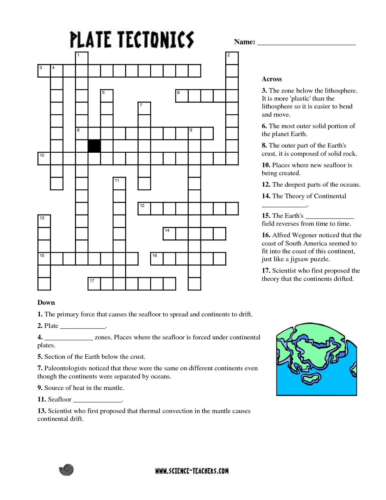 Printable English Crossword Puzzles With Answers