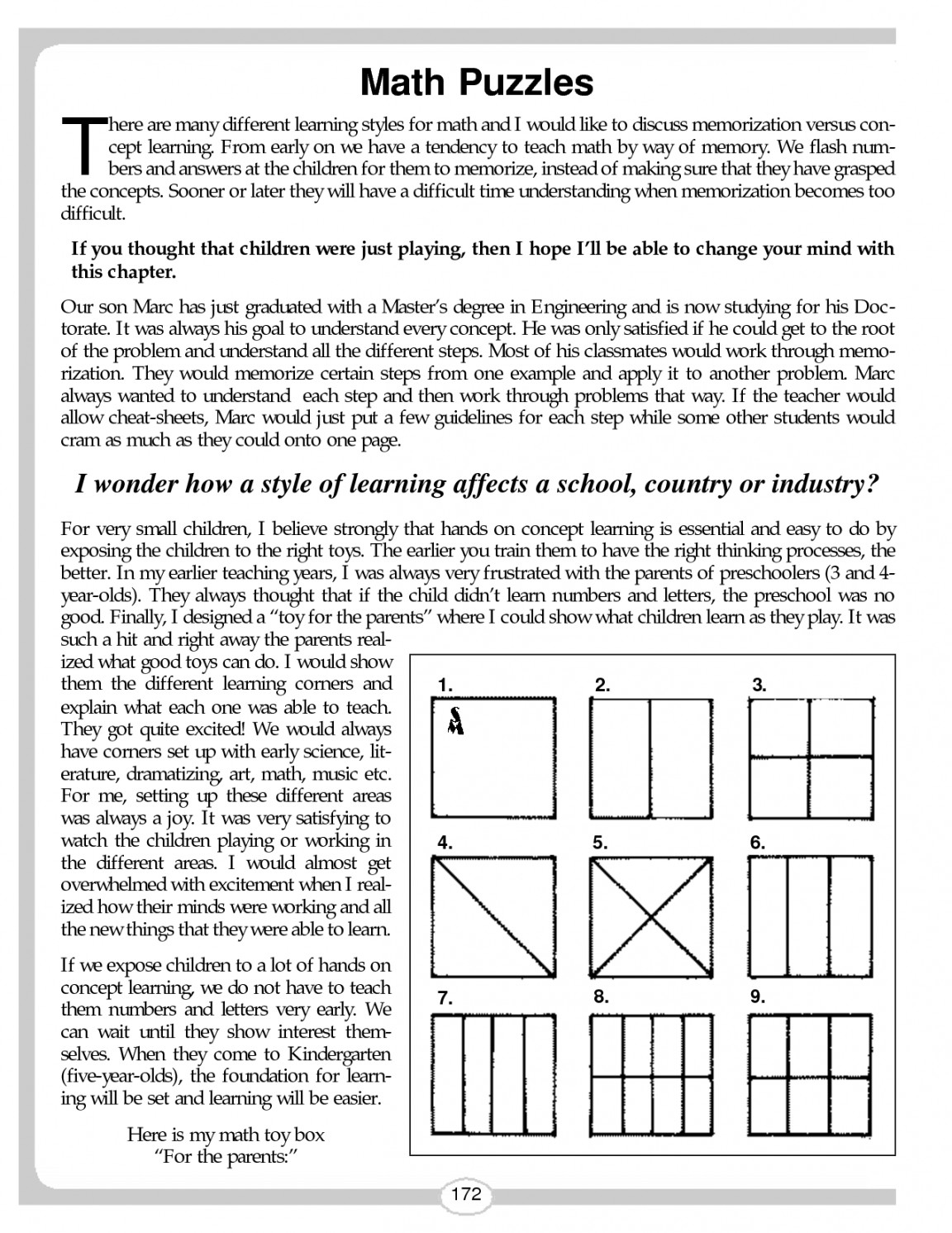 Printable Puzzle Middle School