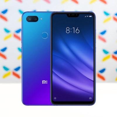 Xiaomi Mi 8 Lite modry