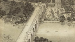 Detail from High Bridge and High Service Works and Reservoir. D.T. Valentine's Manual, circa 1869. Library of Congress Prints and Photographs Division.