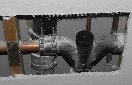 kitchen drain clog sconces » tis the season for plumbing disasters crow202 site ...