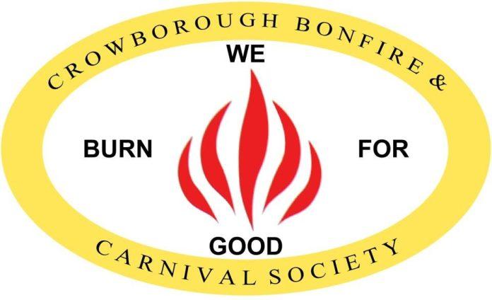 "Crowborough Bonfire & Carnival Society: ""We Burn For Good"""