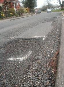 Potholes Church Road