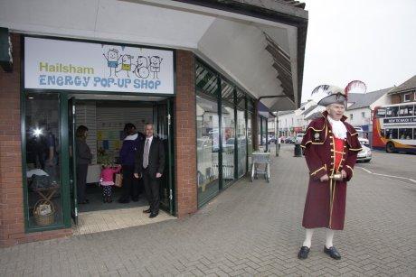 Hailsham's Energy Pop-up Shop 28 March - 2 April