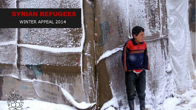 World in Need - Syrian refugee crisis