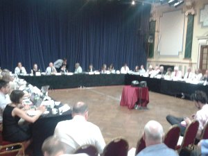 Joint CCG Meeting at the Winter Garden in Eastbourne on 25th June 2014