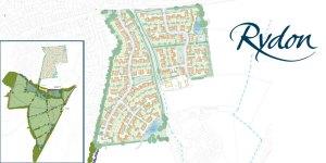 Rydon Homes 160 houses Walsh Manor Farm SANGS
