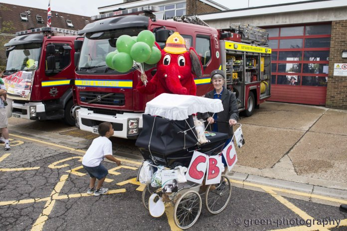 Crowborough Fire Station Open Day in aid of the Firefighters Charity and the Crowborough Birthing Centre