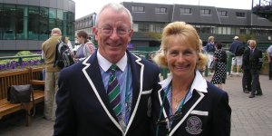 Jim Hollins Tennis umpire Wealden Councillor St Johns