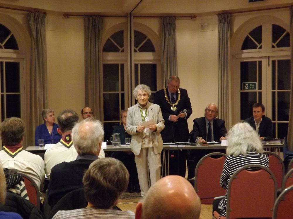 Joan Brookban High Weald Dementia Support Group