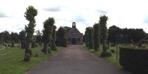 Herne Road Cemetery St Thomas' Chapel Crowborough