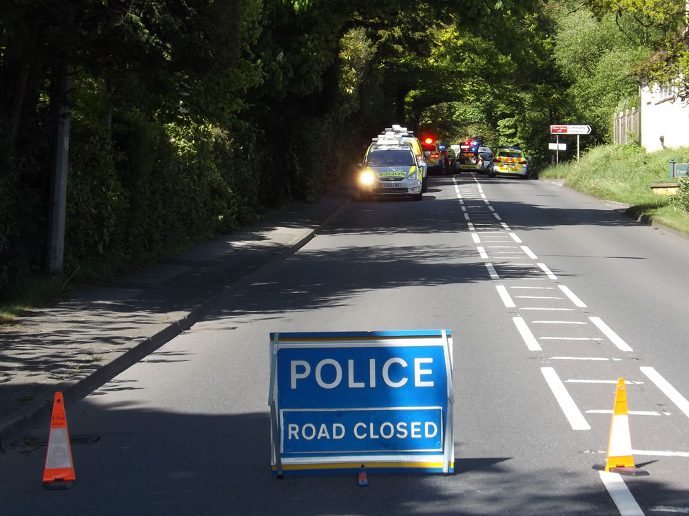 motorcyclist collision killed a26 crowborough sunday 14th may 2017
