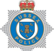 Sussex Police shield coloured.