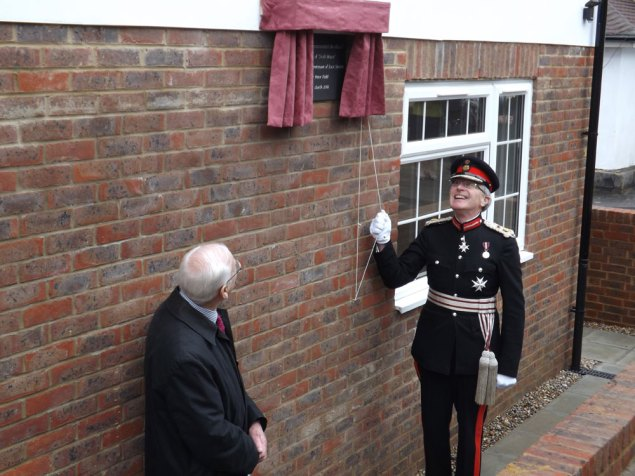 """""""Swift House"""" new almhouse in Crowborough official opening Lord Lieutenant of East Sussex, Mr Peter Field"""