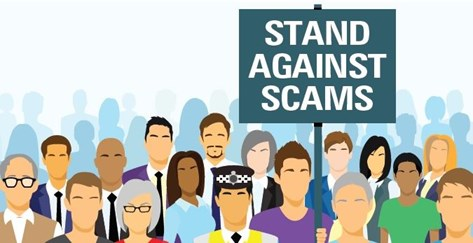 In 2018 Scams Awareness Month takes place in June.