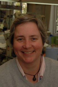 Dr Emma Worrell, Principal Maxillofacial Prosthetist at Queen Victoria Hospital in East Grinstead