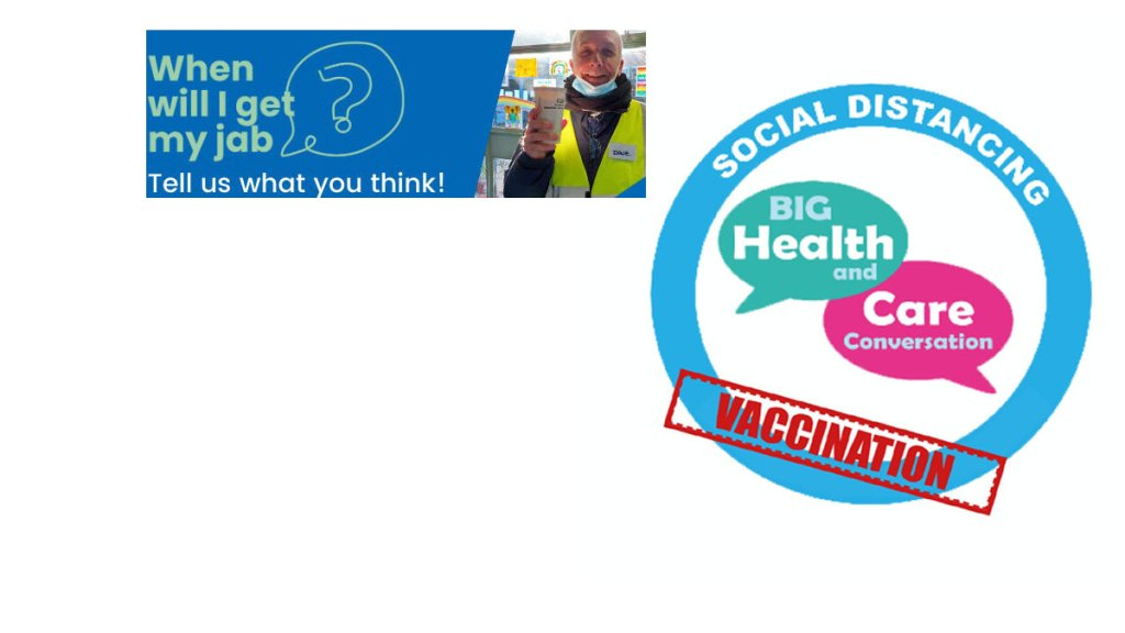survey about the Covid-19 vaccination programme in Sussex