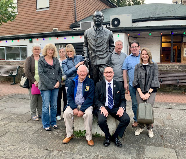 Some of the members of the fledgling Rotary Club in Crowborough