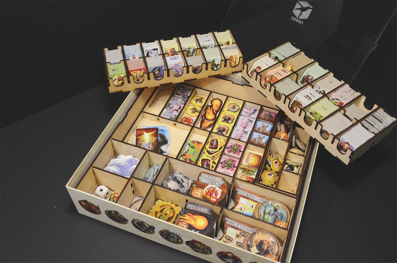 【木製桌遊收納盒】小世界+多款擴充 Small World│烏鴉盒子桌遊收納
