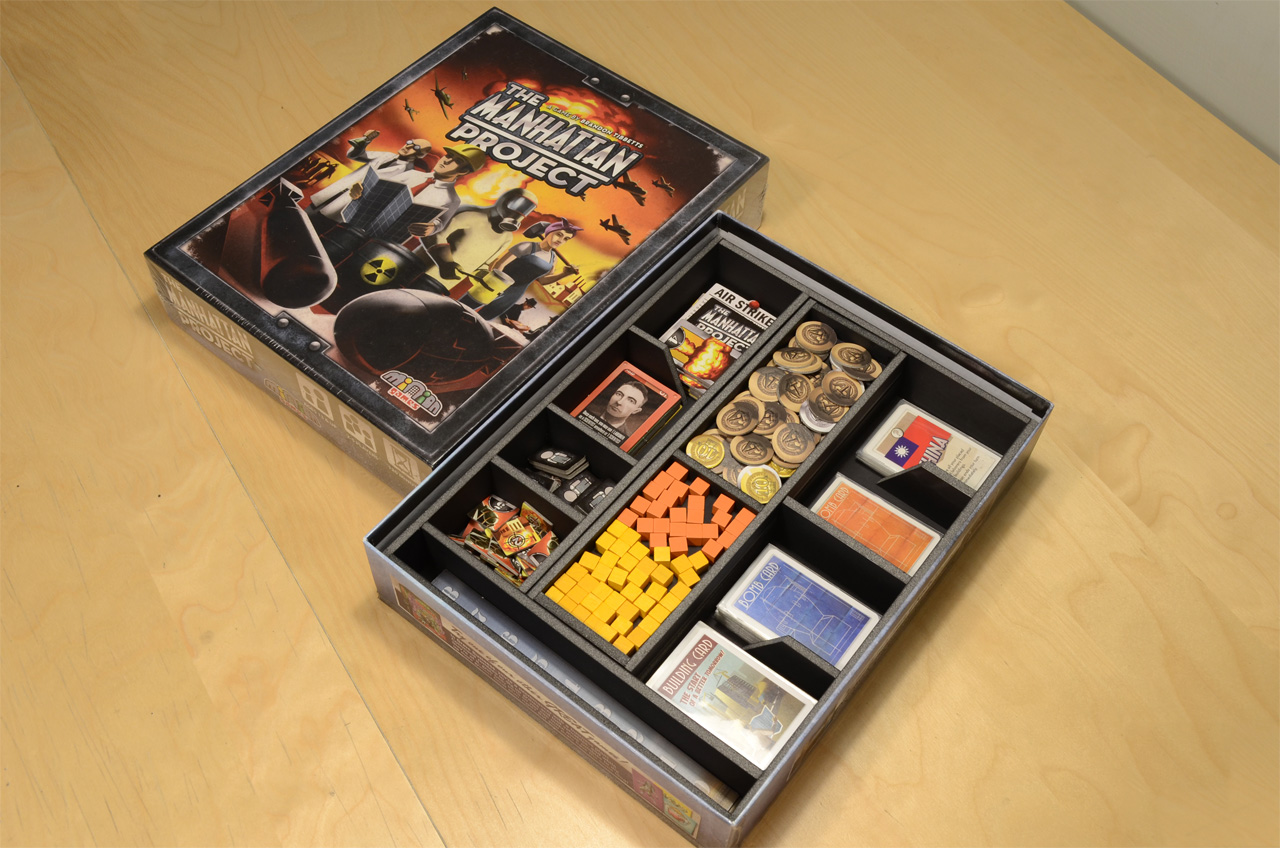 【桌遊收納盒】曼哈頓計畫 The Manhattan Project│烏鴉盒子桌遊收納