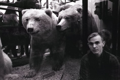 """This photo of SJ Fowler comes as """"Bear as the Bear"""". Best wishes to Jack London. Copywright: Steven J Fowler"""