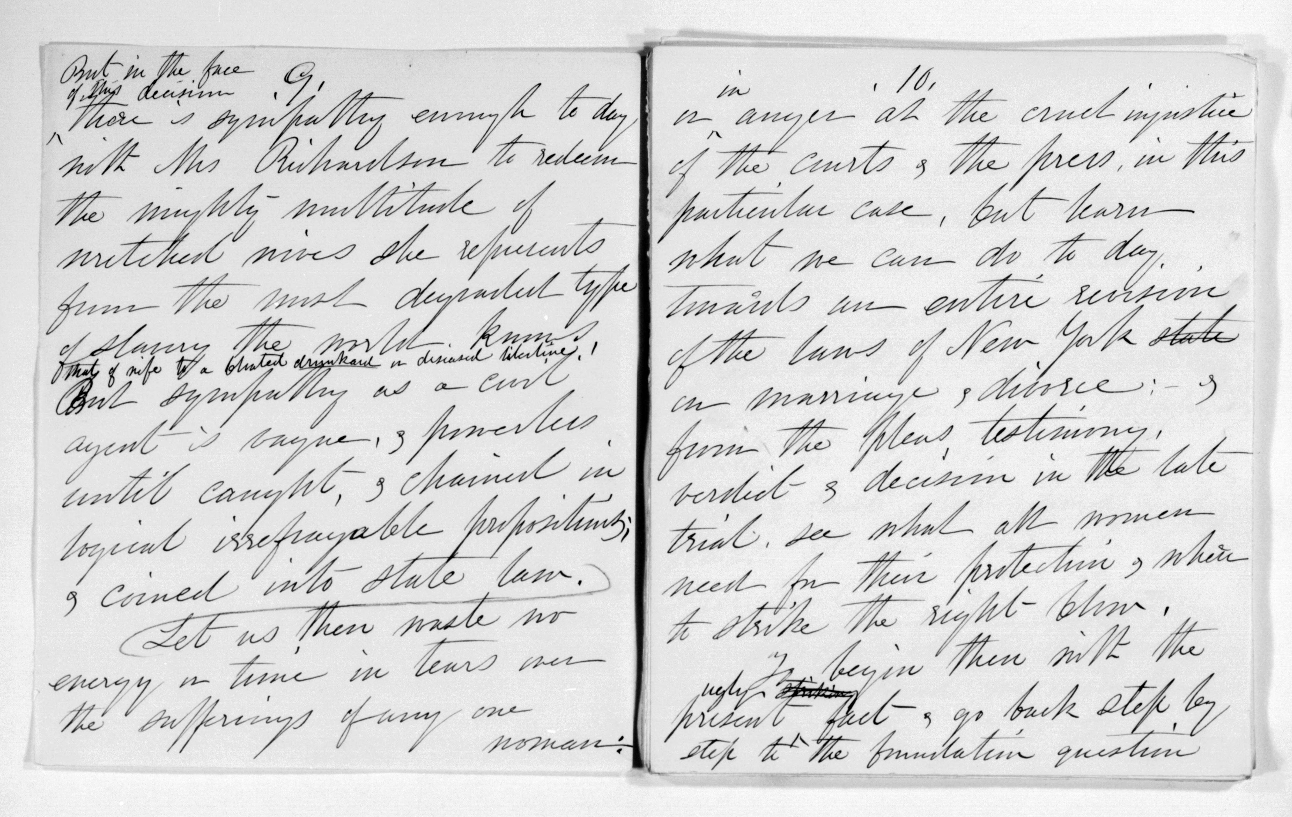 By the People Elizabeth Cady Stanton Papers: Speeches and