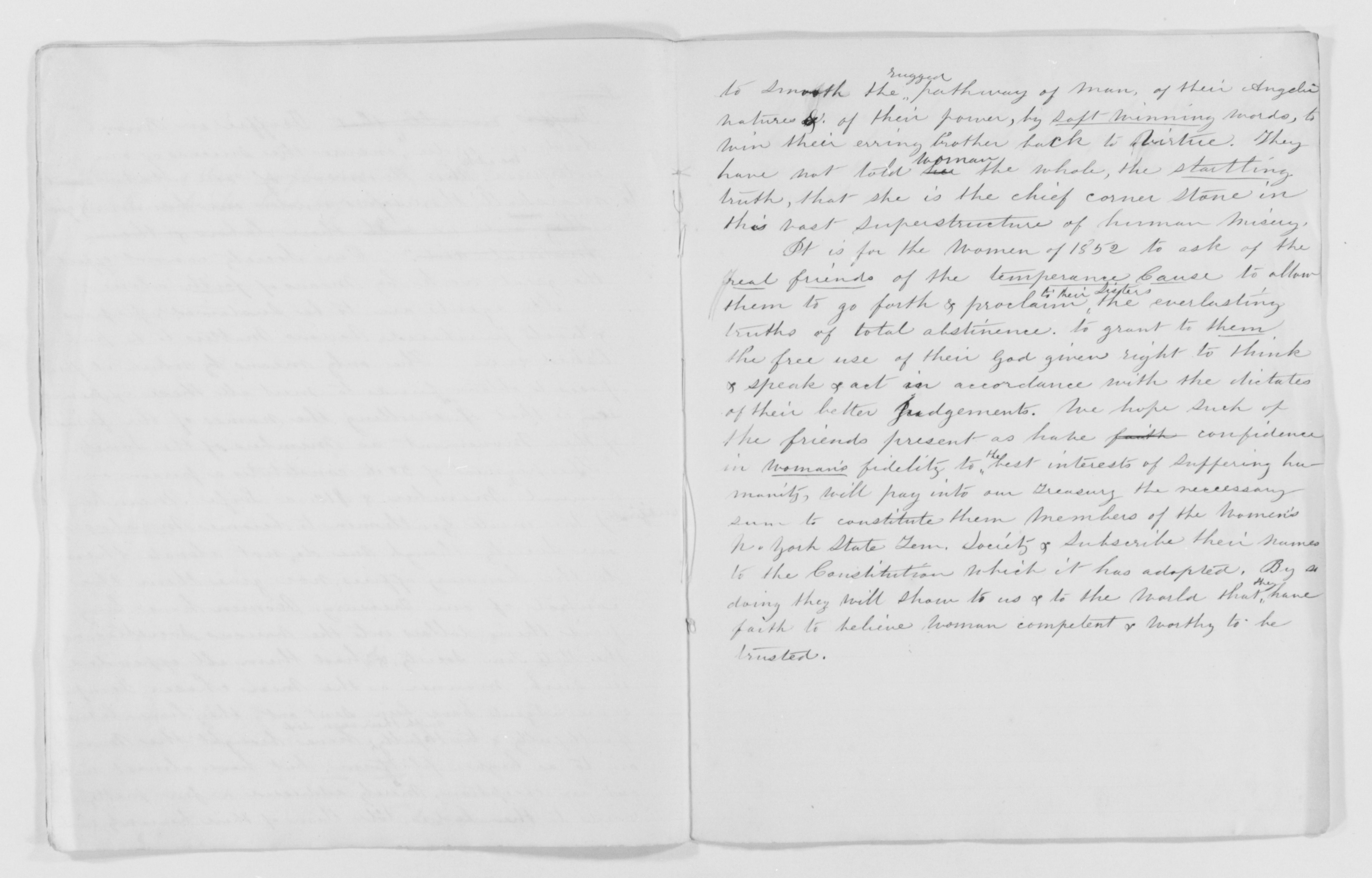By The People Susan B Anthony Papers Speeches And