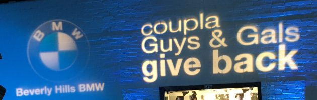 Coupla Guys & Gals Give Back Charity Event