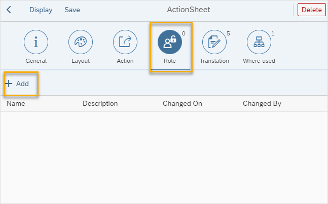 creating and configuring tile chapter