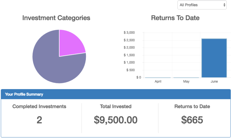 CrowdEngine Investor Dashboard