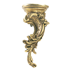 Crowder Designs Decorative Drapery Bracket Collection | Rococo Right
