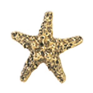 Crowder Designs Decorative Drapery Bracket Collection | Small Starfish