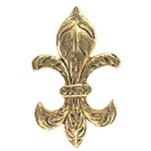 Crowder Designs Decorative Drapery Bracket Collection | Fleur de Lis